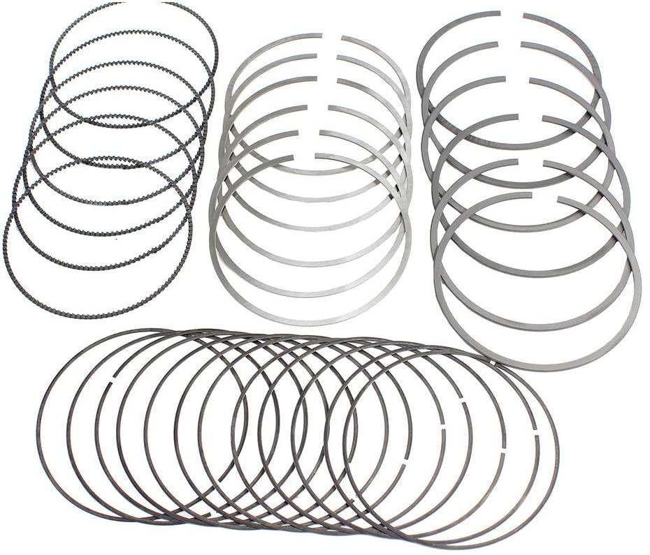 DNJ PR662 Piston Rings for 2007-2015 / Infiniti, Nissan / 350Z, 370Z, EX35, FX35, G35, G37, M35, M35h, M37, Q50, Q70 / 3.5L, 3.7L / DOHC / V6 / 24V / 3498cc, 3696cc / VQ35HR, VQ37VHR
