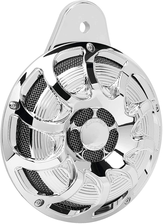 Arlen Ness Drift Horn W/Cover Xl Chr 70-257 New