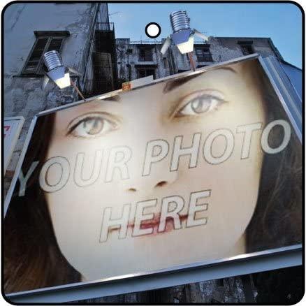 Billboard Your Photo Effect Car Air Freshener