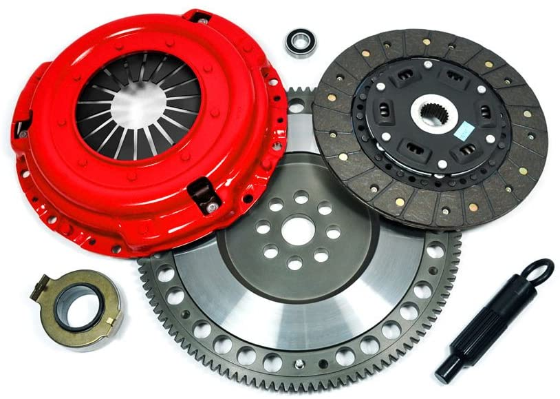 EFORTISSIMO STAGE 2 CLUTCH KIT & FORGED RACE FLYWHEEL for 90-96 NISSAN 300ZX TWIN TURBO