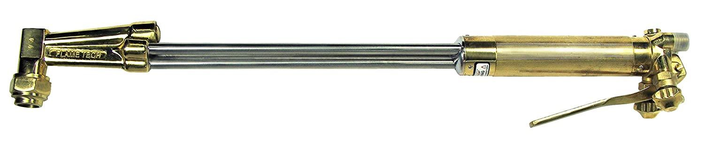 FlameTech 6418-A70 Heavy Duty Hand Cutting Torch, Acetylene, 70 Degree Head, 18