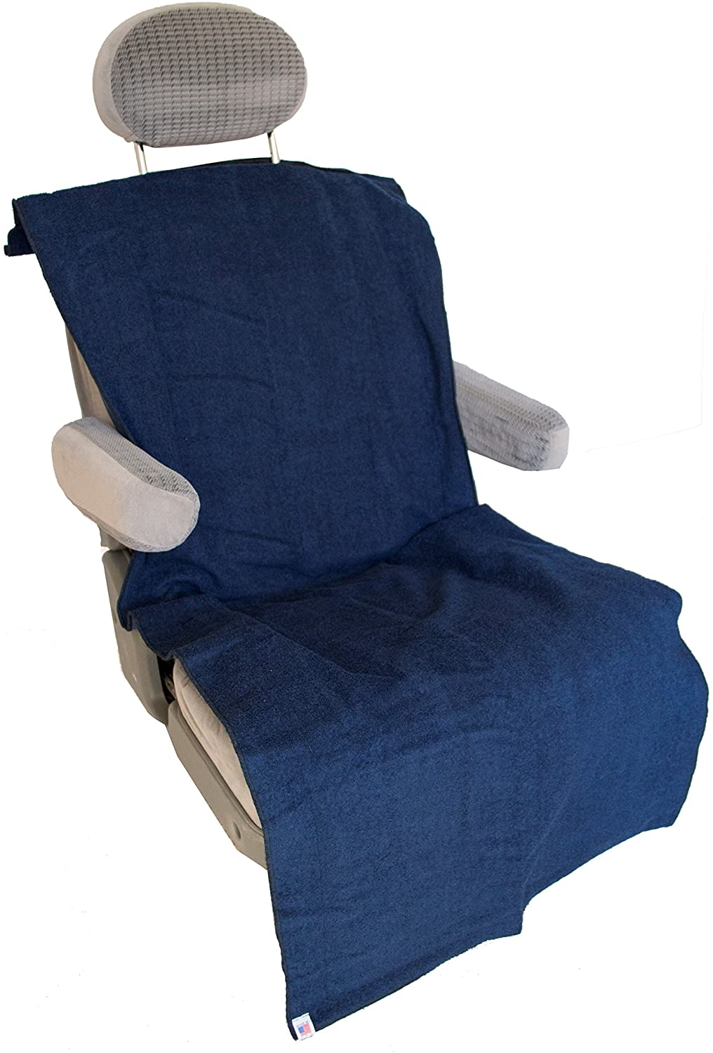 Soaked Or Dirty Athletes (SODA) Standard Seat Cover - Absorbent, Waterproof, Machine Wash & Dry, Bucket or Bench Seat, Made in USA