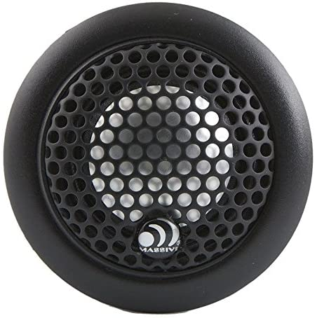Massive Audio CT1A - Tweeter 1 100W 3 Way Surface Angle Or Flush Mount Aluminum Passive Xover (Pair)