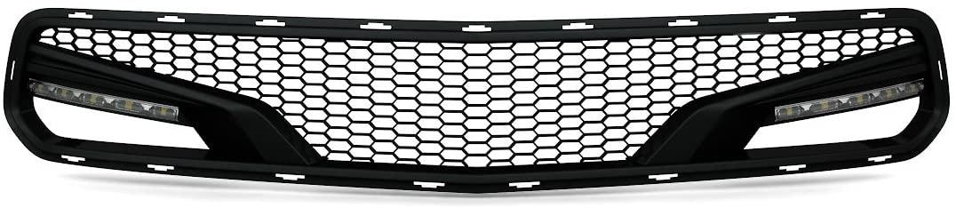 ACS Composite Five1 Front Bumper Grille Painted Carbon Flash Metallic Black with Optional LED (5 Pod LED Bar)