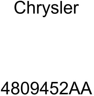 Genuine Chrysler 4809452AA Exhaust Muffler