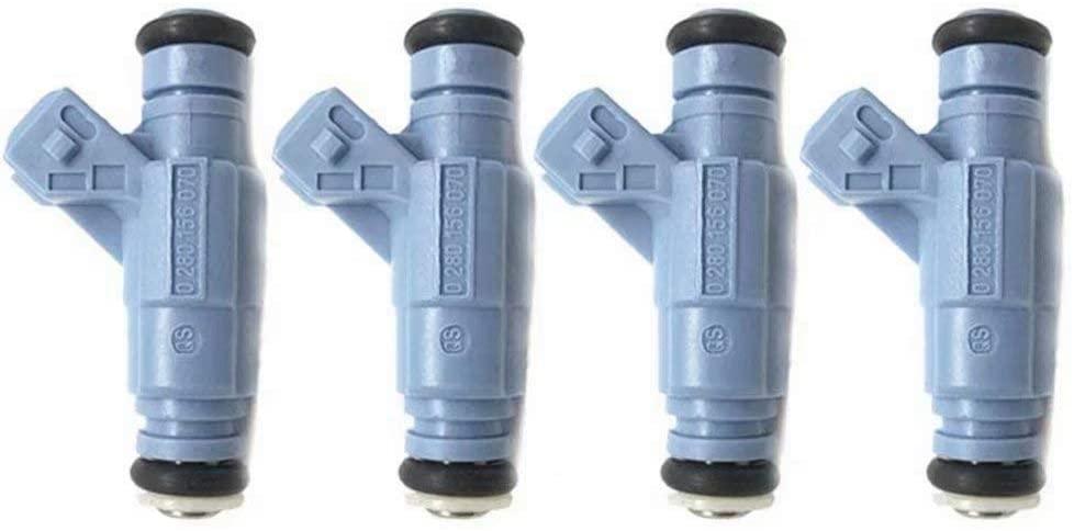 4pcs Fuel Injector OE# 0280156070 for Gemany Car Passat 1.8T A4 A6 B