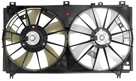 APDI 6025107 Dual Radiator and Condenser Fan Assembly