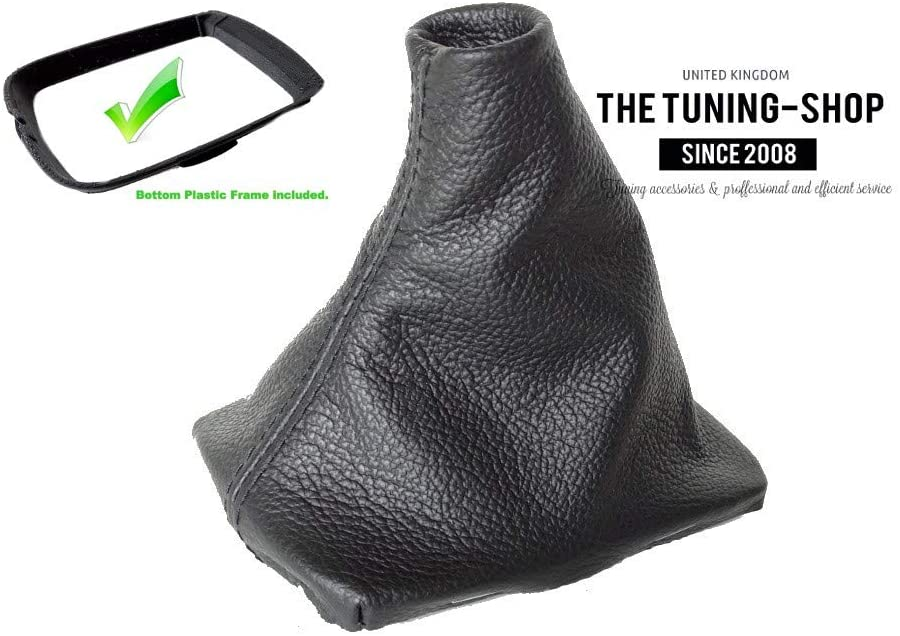 The Tuning Shop Manual Shift Boot with Plastic Frame Leather