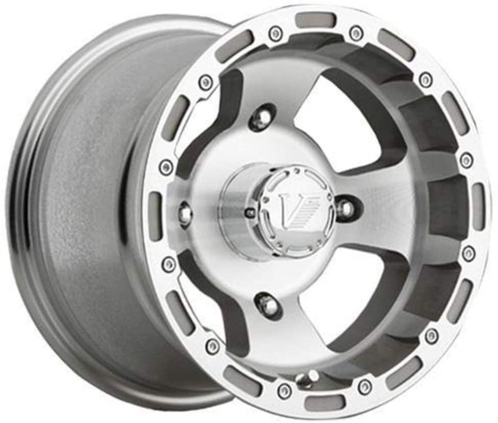 Vision Wheel USE 161-127137M4 Type 161 Bruiser Wheel - 12x8-2+6 Offset - 4/137 - Silver