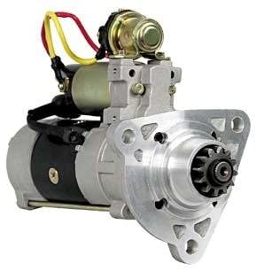 Rareelectrical NEW STARTER MOTOR COMPATIBLE WITH VOLVO PENTA DIESEL D13B-A -B -C -D -G -H -J -K -L -M -N MP 21103722 M9T83879AM M009T83879AM