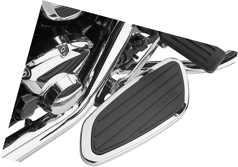 Cobra Swept Passenger Floorboards for 2002-2004 Honda VTX1800C