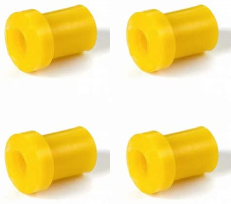 Siberian Bushings Polyurethane Pack of 4 Rear Suspension Leaf Spring Mount To Shackle Compatible with Chrysler Caravan/Voyager CKD 2006-On Voyager Graz 2001-On Caravan/Town And Country 2001-On
