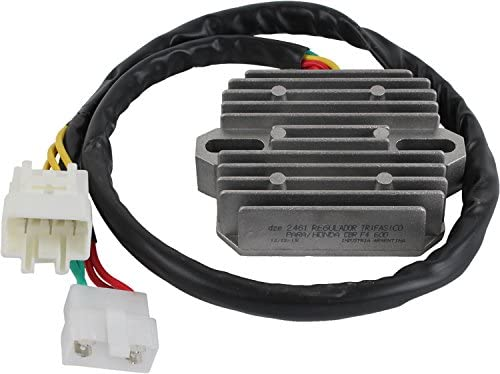 Rareelectrical NEW VOLTAGE REGULATOR HONDA MOTOR COMPATIBLE WITHCYCLE CBR600F4 31600MBWG90 SH678PA 31600MBWD21
