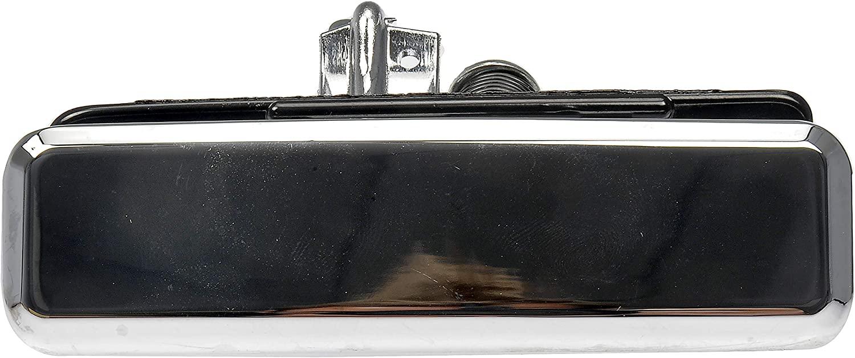 Dorman 88285 Front Driver Side Exterior Door Handle for Select Chevrolet/GMC Models, Chrome