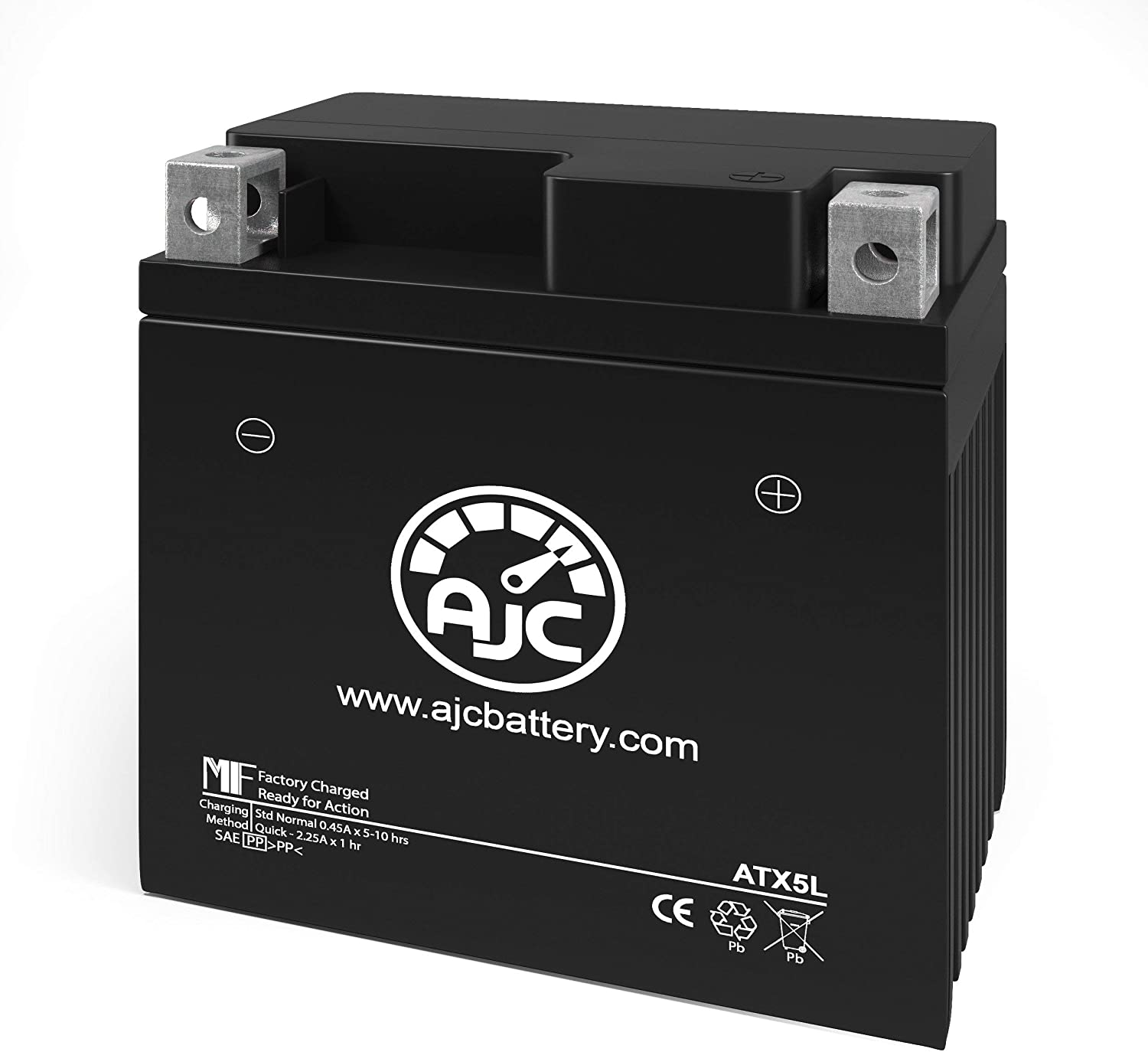 Arctic Cat 90 2X4 89CC ATV Replacement Battery (2004) - This is an AJC Brand Replacement