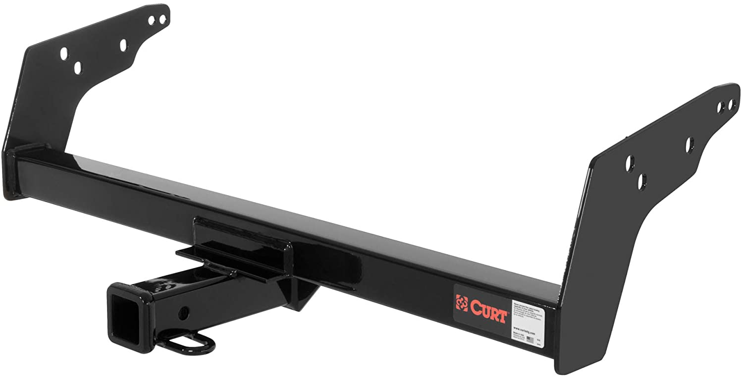 CURT 13021 Class 3 Trailer Hitch, 2-Inch Receiver, Concealed Main Body, Select Chevrolet S10, GMC S15, Sonoma, Isuzu Hombre