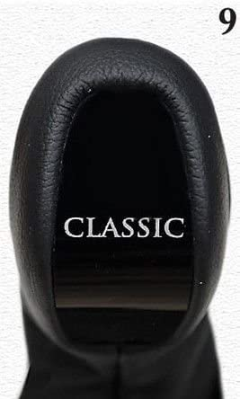 For Mercedes E-Class W210 FL 2000-03 Manual Gear Knob + Shift Boot Leather Model 9