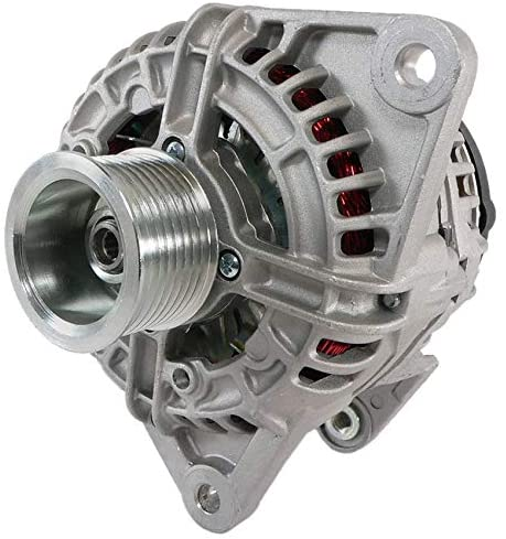 Rareelectrical NEW 12V 120A ALTERNATOR COMPATIBLE WITH CASE AND IVECO INDUSTRIAL APPS 0124515113 504225815