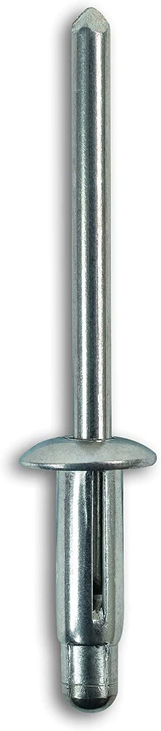 LASER TOOLS LAS36299 Connect Workshop Consumables 36299 Trim Rivet Metal to Suit Alfa, Pk 50, Set of 50