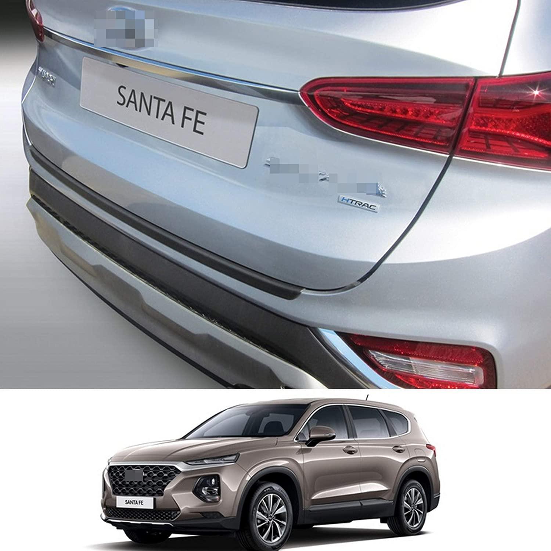 PBG Rear Bumper Scuff Protector Plastic Sill Cover Guard Scratch Protection Trim Fits Hyundai Santa Fe 06.2018-2020 (Does not fit Grand Santa Fe)