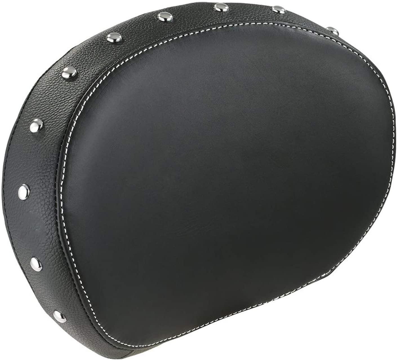 Indian Motorcycle Black Genuine Leather Passenger Backrest Pad
