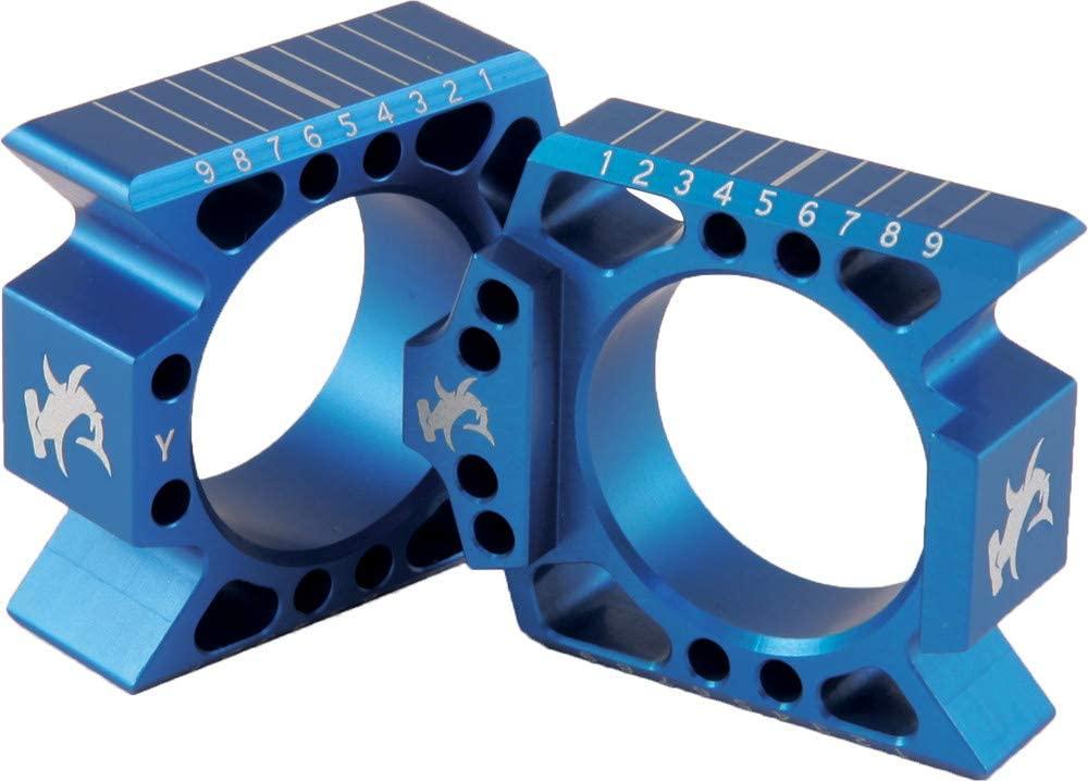 Hammerhead Designs Axle Blocks - Blue YZFABb BLU -REP ABY2