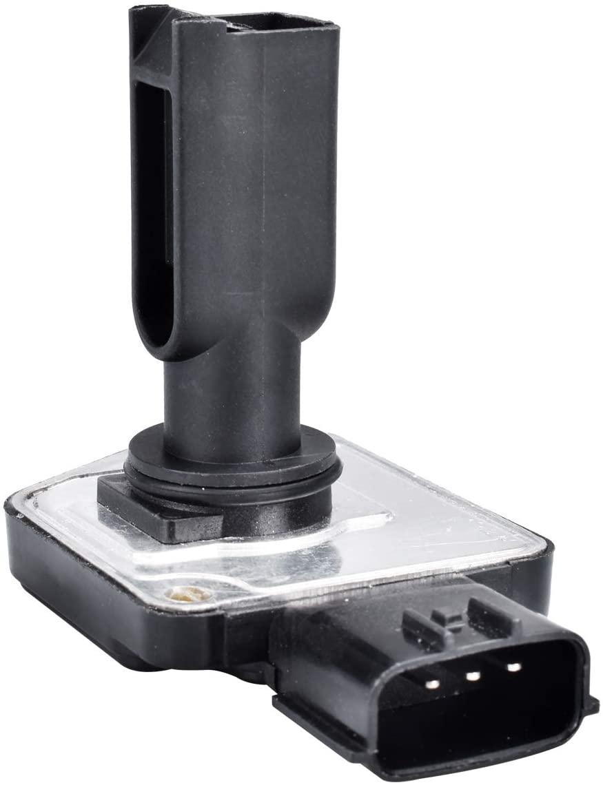 FAERSI Mass Air Flow Meter Sensor MAF 22680-5J000 Replacement for Frontier Pathfinder Quest Xterra 3.3L, 2001-2004 Ford Mustang 3.8L, 1999-2002 Mercury Villager 3.3L & 1998-2000 Infiniti QX4 3.3L