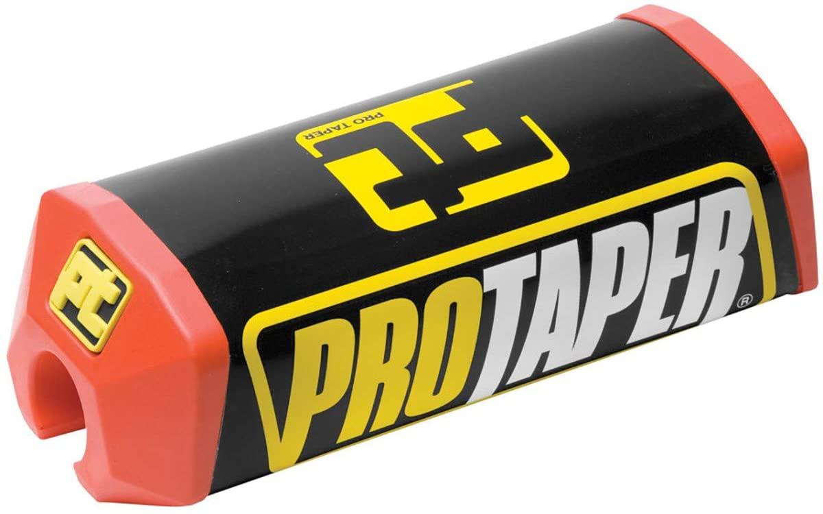 Pro Taper Standard 2.0 Square Crossbar Pads - Red/Black