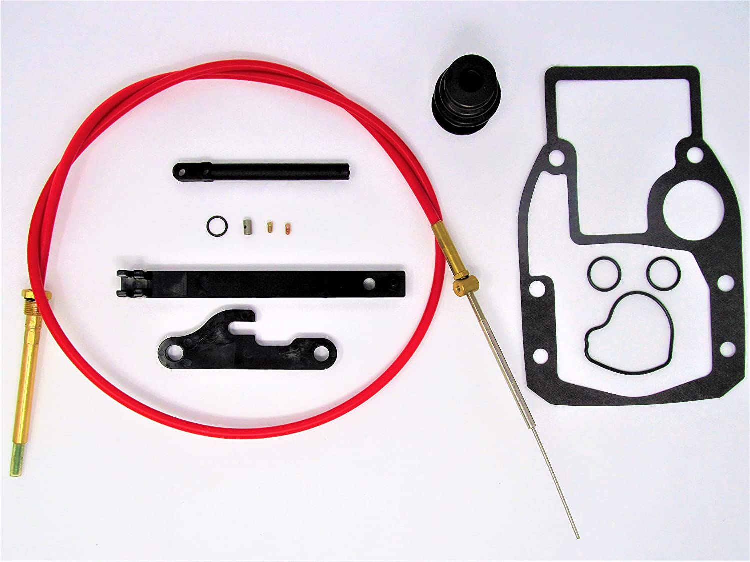 Complete OMC Cobra Shift Cable Repair Kit w/Tool 21455 39630 987661 508105 21715