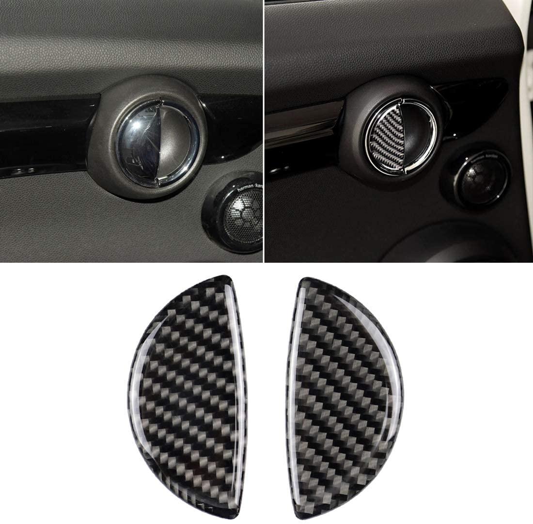Chenyouwen Car Interior Accessories Great 2 PCS R/F Universal Car Door Handle Carbon Fiber Decorative Sticker for BMW Mini R55 / R56 / R60 / R61 / F55 / F54 / F60