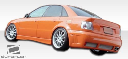 Compatible With/Replacement For Duraflex ED-HBL-507 SR-S Rear Bumper - 1 Piece - Compatible With/Replacement For A4 1996-2001