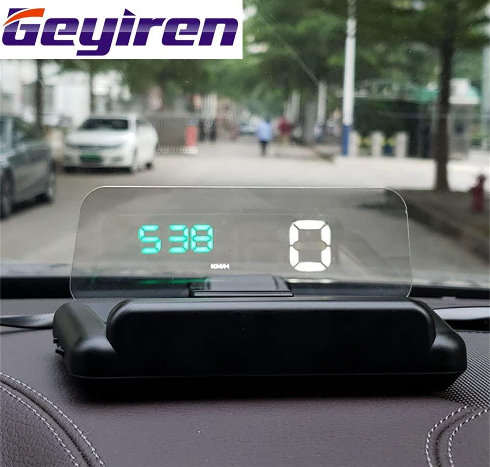 Geyiren C500 HUD Head-up Display with Adjustable Reflection Board 5