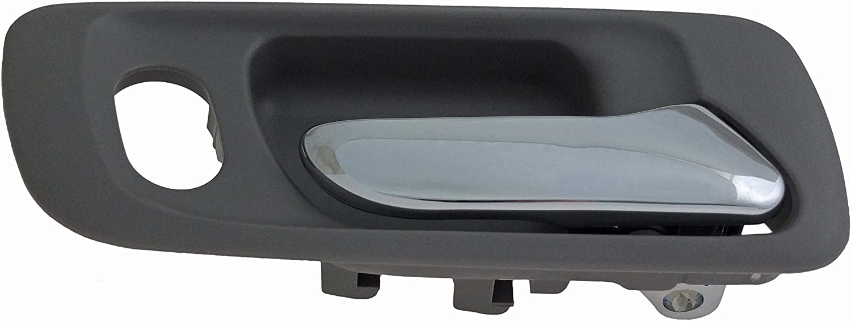 Dorman 92399 Front Passenger Side Interior Door Handle for Select Honda Models, Gray and Chrome