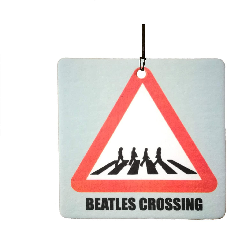 Beatles Crossing Car Air Freshener