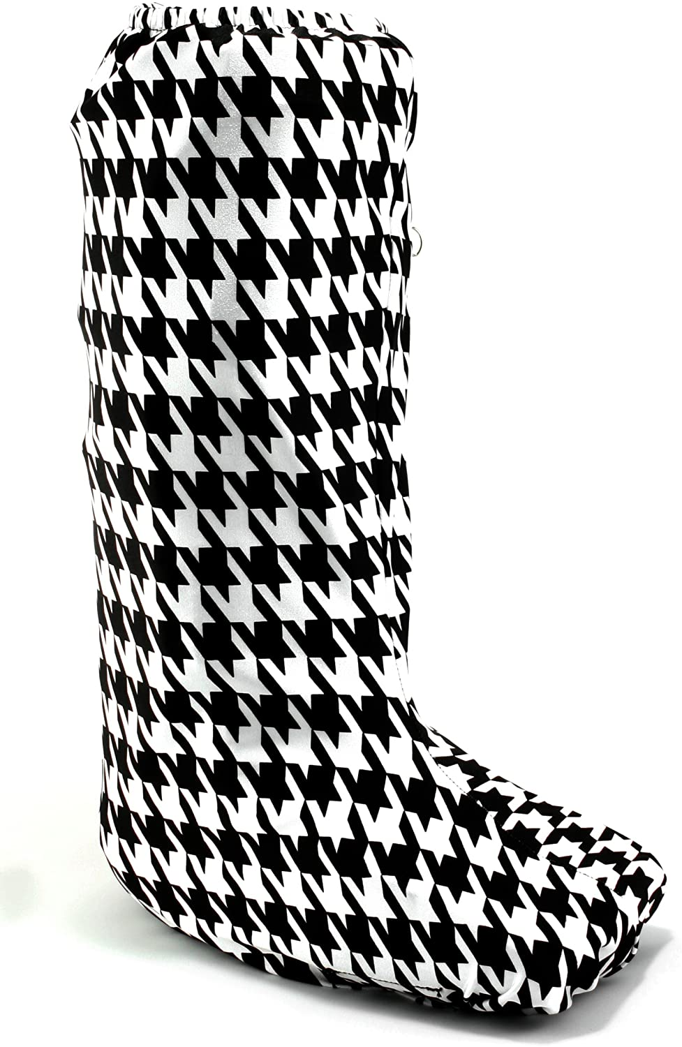 My Recovers Walking Boot Cover for Fracture Boot, Fashion Cover in Houndstooth, Tall Boot, Made in USA, Orthopedic Products Accessories (MD)