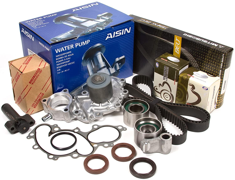 Evergreen TBK271MHWPA2 Fits Toyota Pickup 3.4 DOHC 5VZFE Timing Belt Kit AISIN Water Pump