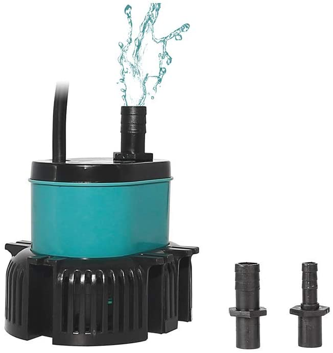 boxtech 264-1057 GPH Submersible Water Pump, Super Quiet Small Fountain Pump for Pond Aquariums Hydroponics Fish Tank Garden Fountain Waterfall