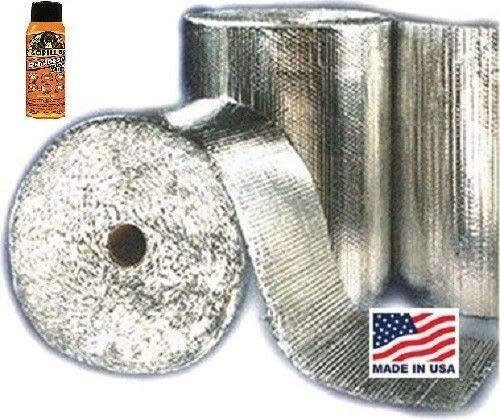 100 sqft Vehicle Car Insulation Heat Sound Deadener Thermal Automotive Adhesive