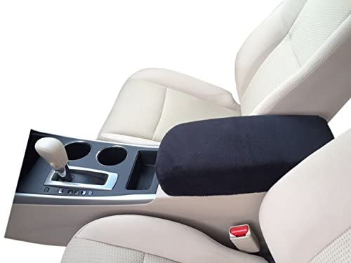 Auto Console Covers- Center Console Armrest Cover Fleece Fabric -Compatible with The 2011-2020 Dodge Durango