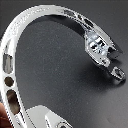 XKMT-Rear Passenger Grab Bar Handle Rail Compatible with 2008-2013 Suzuki Hayabusa GSXR1300 R CHR Motorbike [B00YWCKKEI]