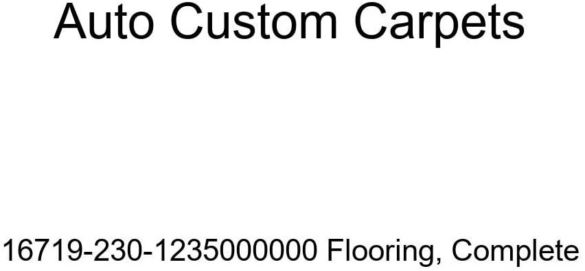 Auto Custom Carpets 16719-230-1235000000 Flooring, Complete