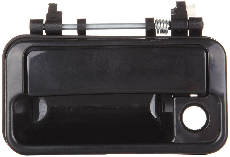 PARTHIGH Exterior Door Handle Front Driver Left Side Replacement for 1989-1991 Chevrolet Sprint Black 8282060B025PK