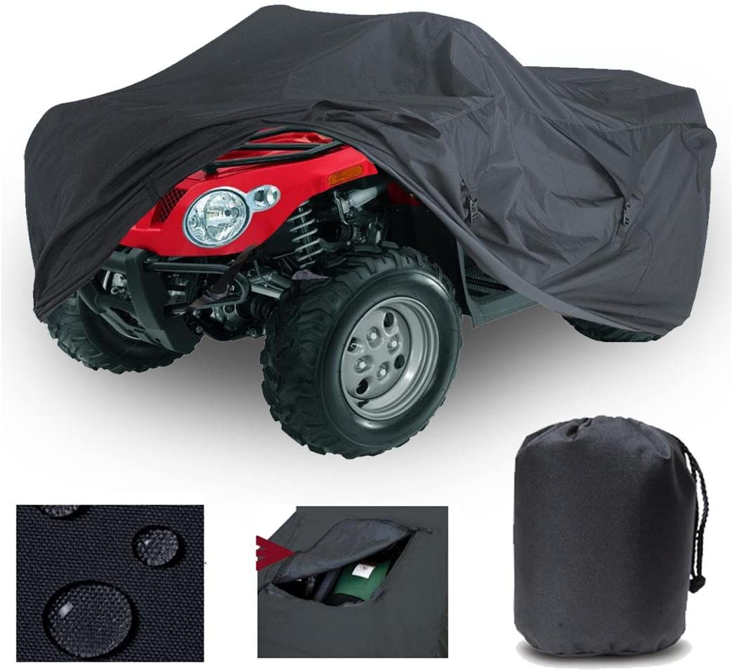 GREAT QUALITY HEAVY DUTY 4 WHEELER ATV COVER FITS Kawasaki Prairie 360 4X4 QUAD ALL TERRAIN VEHICLES 2003-2011. STRONG ALL WEATHER PROTECTION.