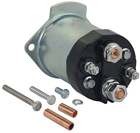 Rareelectrical NEW 12V SOLENOID COMPATIBLE WITH BUICK CAR ELECTRA V8 5.7L 350CID DIESEL 1982-1983 1998556 1998552 1998554 1998556