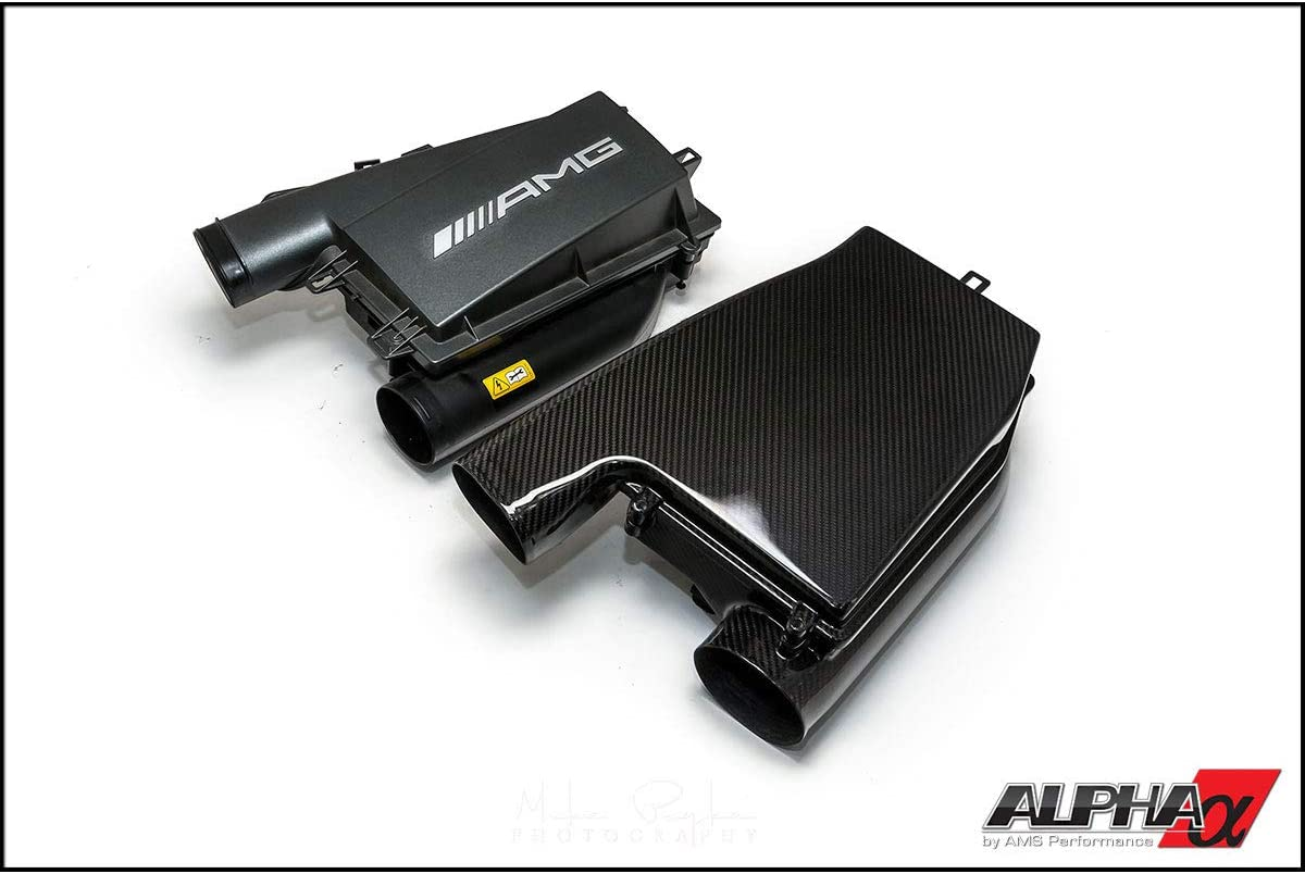AMS Carbon Fiber Induction Kit w/o Cover for Mercedes-Benz CLS63 E63 AMG