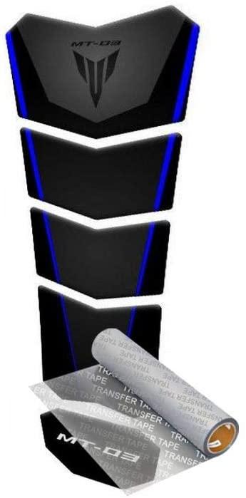 Tankpad for Yamaha MT-03 321 2014-2019 (Black/Blue)