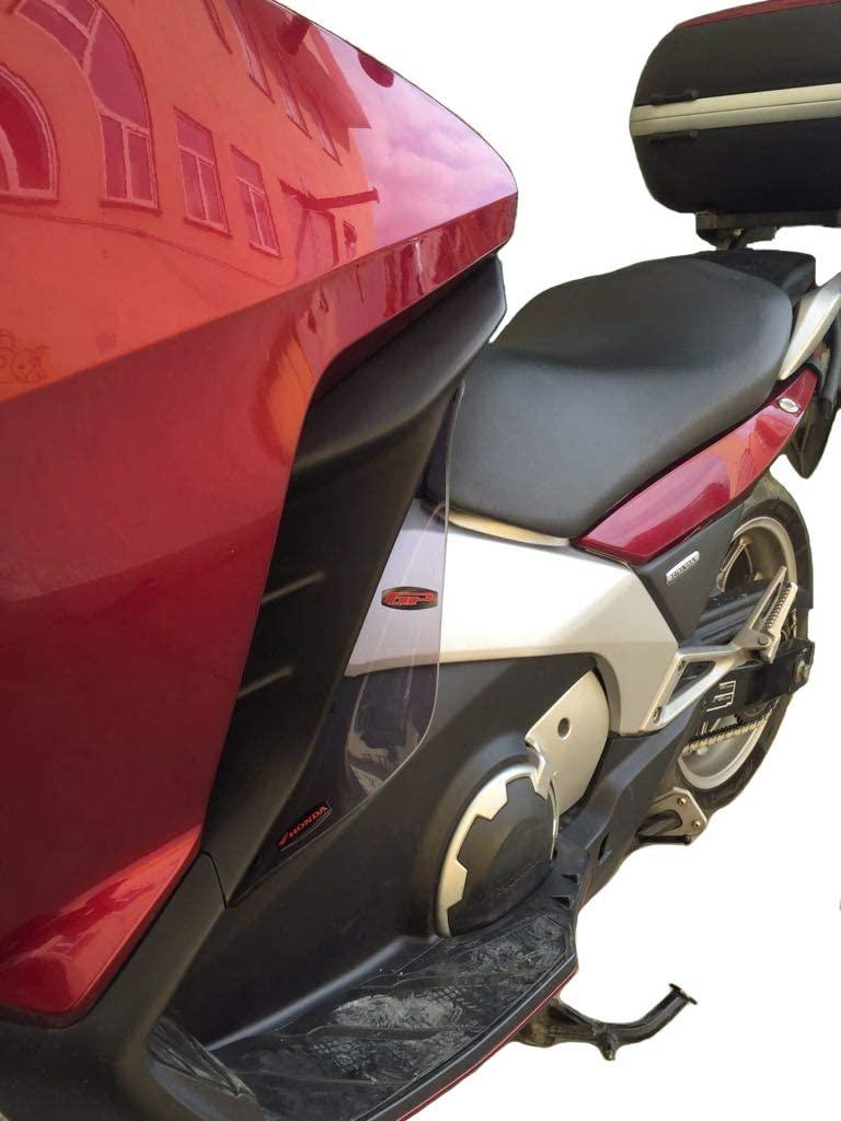 Wind Deflector for Legs BLACK Compatible with Honda NC700D Integra (2012-2013)
