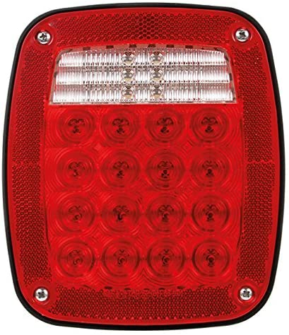 Truck-Lite 5071 16 Diode LED Stop/Turn/Tail Rear Box Lamp (Multi-Function Curbside)