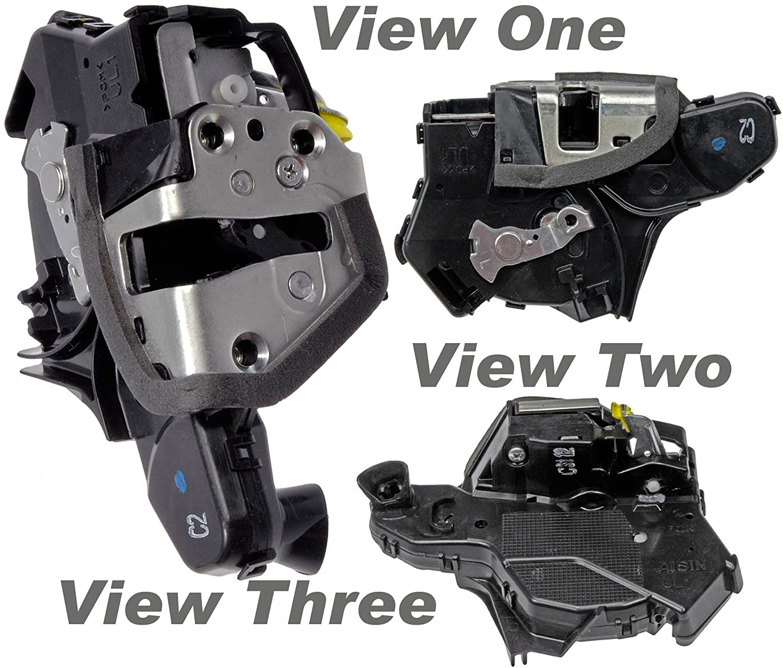 APDTY 042911 Door Latch w/Integrated Lock Actuator Motor Fits Front Left (Driver-Side) 2009-2012 Toyota Corolla (US Models) 2009-2012 Toyota Matrix 2007-2012 Toyota Tundra (69320-0C020, 693200C020)