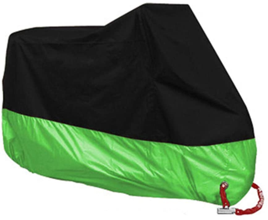 Motorcycle Cover Waterproof Motorcycle Cove Motorcycle Cover Waterproof Outdoor & Indoor Bike Cover, Moped Cover For -Scooter Cover Heat-Resistant, Scratch-Free & Breathable For Ideal Storage-2Xl Fo